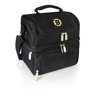 Boston Bruins 8-Can Pranzo Lunch Tote – Black