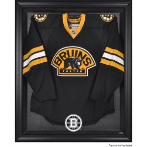 Boston Bruins Fanatics Authentic Black Framed Logo Jersey Display Case