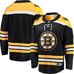 Boston Bruins Fanatics Branded Breakaway Home Jersey – Black