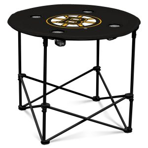 Boston Bruins Round Tailgate Table