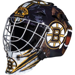 Boston Bruins Unsigned Franklin Sports Replica Full-Size Goalie Mask
