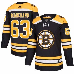 Brad Marchand Boston Bruins adidas Authentic Player Jersey – Black